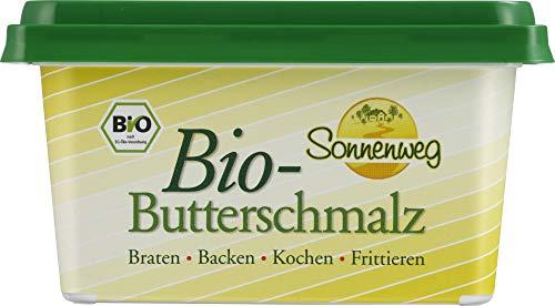 Sonnenweg Bio Bio-Butterschmalz Sonnenweg 2 kg Karton DE-ÖKO-006 - Herkunft: EU-Landwirtschaft (6 x 250 gr)