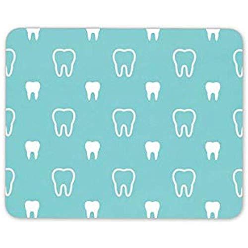 Mousepad Zahn-Mausunterlage Mousepad Mauspad Zahnarzt-Zahnmedizinische Krankenschwester-Empfangs-Zahn-Computer-Geschenk-Mausunterlage 25x30cm