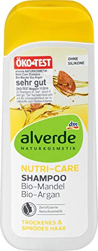 alverde NATURKOSMETIK Shampoo Nutri-Care, 200 ml, vegan