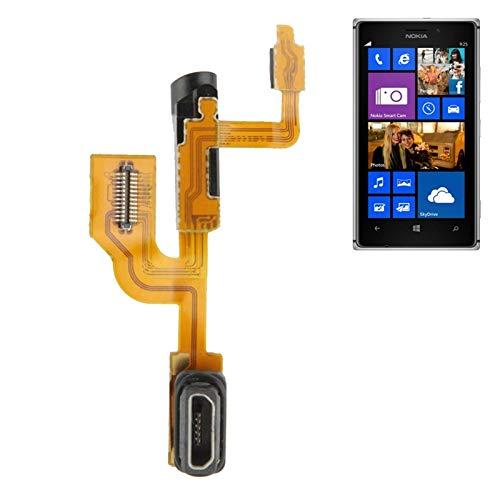 Productos de telefonía Cable Flexible de Auricular de Carga de Conector de Cola for Nokia 925