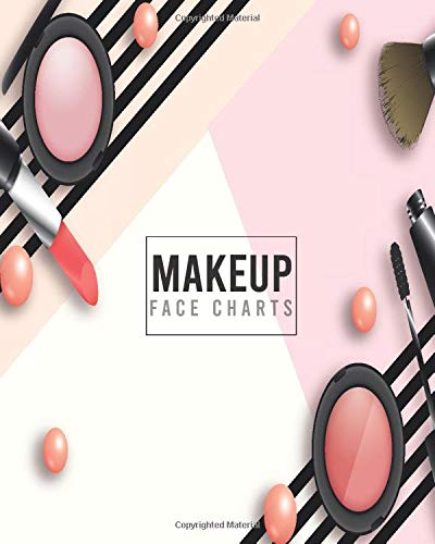 MAKEUP FACE CHARTS: BEST GIFT FOR TEENAGE GIRLS - MAKEUP FACE CHARTS TO PRACTICE E GIRL MAKEUP, SOFT GIRL MAKEUP AND GOTH MAKEUP TO TRY OUT THE MONSTER MASH TREND
