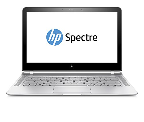 HP Spectre (13-v104ng) 33,8 cm (13,3 Zoll / FHD IPS) Laptop (Ultrabook mit: Intel Core i7-7500U, 8 GB RAM, 256 GB SSD, Intel HD-Grafikkarte 620, Windows 10 Home 64) silber