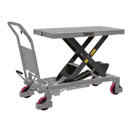 Roughneck Hydraulic Lift Table Cart 2200 Lb Capacity Home Improvement