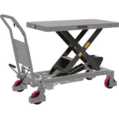 Roughneck Hydraulic Lift Table Cart - 2200-Lb. Capacity