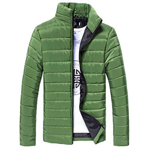 Blouson Homme Mi Saison,Blazer Homme Grande Taille,Blouson Homme Coton,Pardessus Homme Slim Fit,Blazer Homme Gris,Vert,L