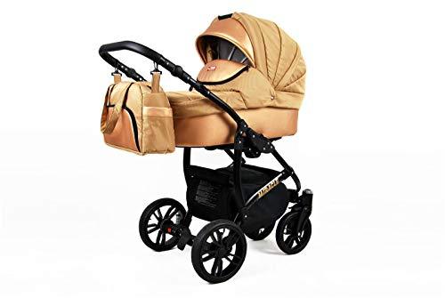 Cochecito de bebe 3 en 1 2 en 1 Trio Isofix silla de paseo Wonderland by SaintBaby Gold Braid 4in1 con Isofix + Silla