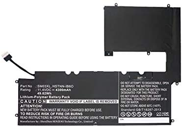 Synergy OFFicial store Digital Laptop Battery Compatible with 15-c1 x2 Envy Factory outlet HP