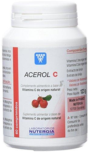 Nutergia Acerol C Complemento Alimenticio - 60 Tabletas