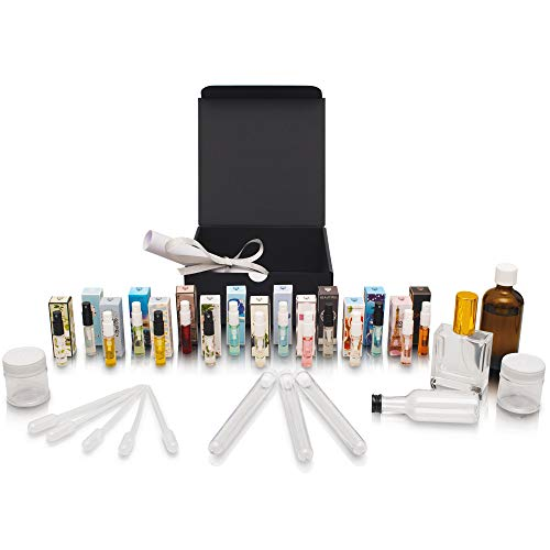 Parfüm zum selber machen - Komplettes Set ideal als Geschenk/Geschenkidee für Freundin/Mutter | Duftset mit 16 Düften