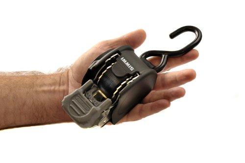 BoatBuckle Mini G3 Retractable Transom Tie-Down, Beige, 1 x 72-Inch