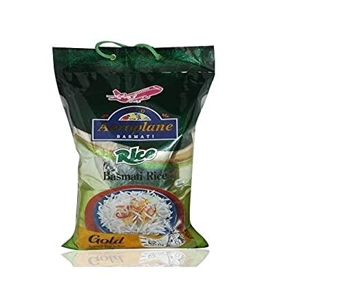 Aeroplane Gold Basmati Rice with - 5kg