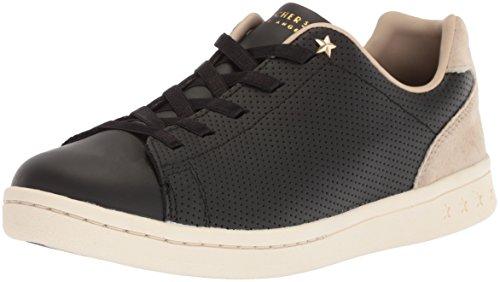 Skechers Women's Darma-Perforated Leather Sneaker