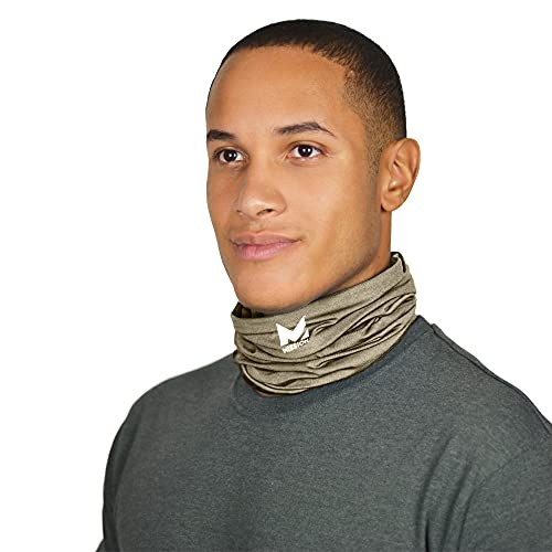 Mission Cooling Neck Gaiter 12+ Ways To Wears, Face Mask, UPF 50, Cools when Wet- Sand