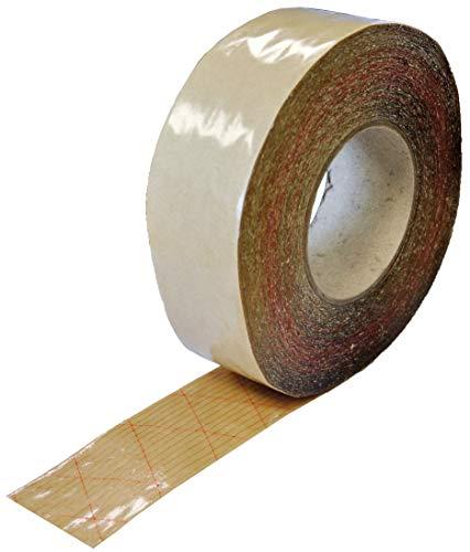 SILISTO Hochleistungs Doppelseitiges Sockelleistenklebeband 50mm x 50m, Transparent für Fußleisten, Teppiche und mehr