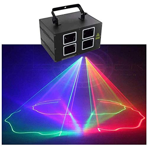 Iluminación, Iluminación Luces de discoteca for Bares Party, efecto 3D a todo color DMX-512 LED Party luces de haz de Danza Departamento de cumpleaños de DJ Bar Club Bar