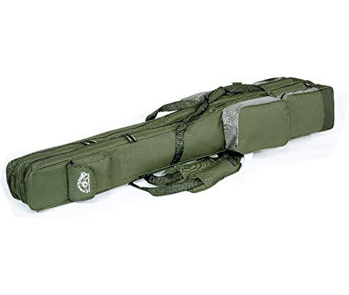 Jenzi Corrigator - Bolsa doble de transporte para caña de pescar (1,5 m)