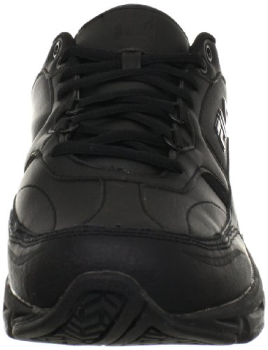 Fila mens Memory Workshift-m cross trainer shoes, Black/Black/Black, 12 X-Wide US