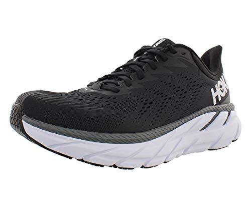 HOKA ONE ONE Men's Clifton 7 Running Shoes Black/Black 11 M US