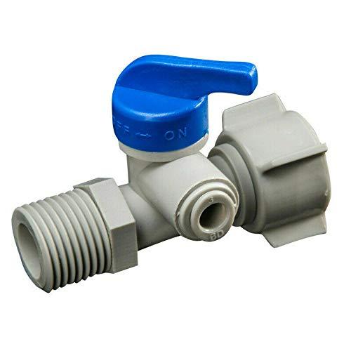 Válvula bola cierre SENRISE tanque agua plástico