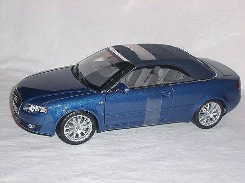 Norev Defektes Modell Audi A4 A 4 Cabrio 2005 Blau Soft Top 1 18 Modellauto Modell Auto