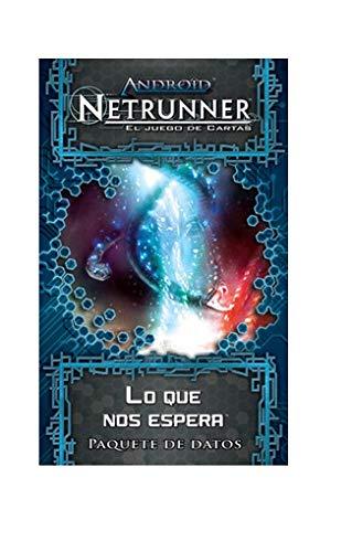 Fantasy Flight Games Android Netrunner LCG - Lo Que Nos Espera , Juego de Cartas, Ciclo Génesis (Edge Entertainment EDGADN02)