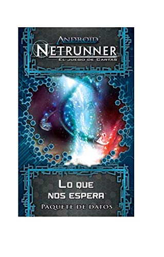 Fantasy Flight Games Android Netrunner LCG - Lo Que Nos Espera , Juego de Cartas, Ciclo Génesis (Edge Entertainment EDGADN02)