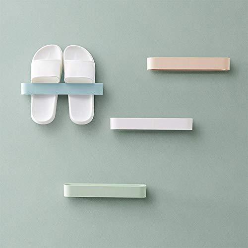 Estante Estante para Zapatos Montado En La Pared Tacones Altos Zapatos Deportivos Zapatillas para El Baño Organizador Estante De Pared para Zapatos Que Ahorra Espacio En El Hogar