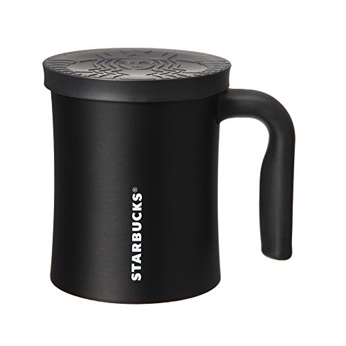 スターバックス Starbucks 2016 ステンレス ロゴキャップマグ ブラック 350ml