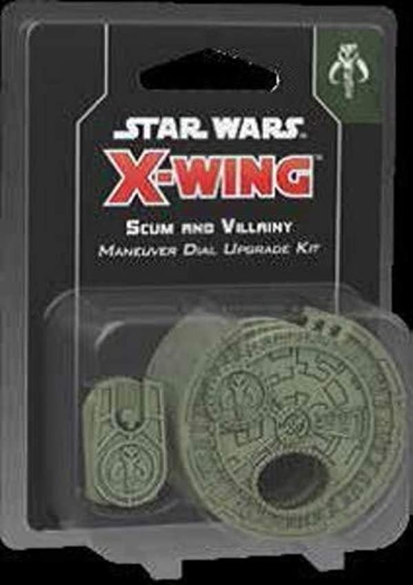 学校教育瀬戸際制限するFantasy Flight Games FFG X-Wing Game Scum and Villainy Manoeuvre Dial Upgrade Kit - Star Wars X-Wing Miniatures Game 2nd Edition