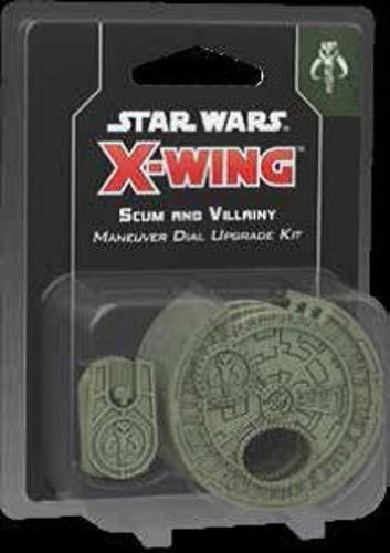 Fantasy Flight Games FFG X-Wing Game Scum and Villainy Maneuver Dial Upgrade Kit - Star Wars X-Wing Miniatures Game 2nd Edition