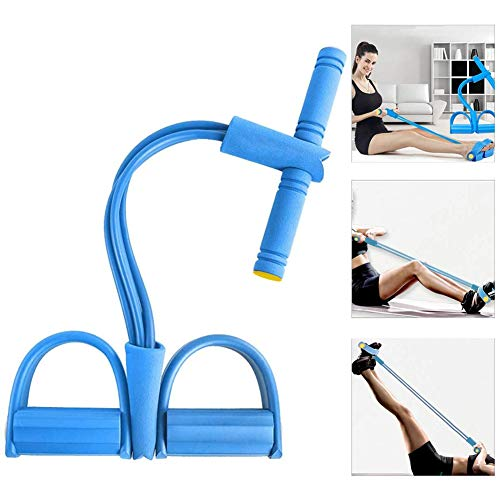 Widerstandstraining, Beintrainer, Sit-up Gym Equipment, Yoga Fitness (Blau)