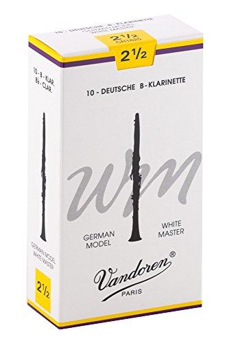 Vandoren Blätter B-Klarinette Deutsch 2,5 White Master
