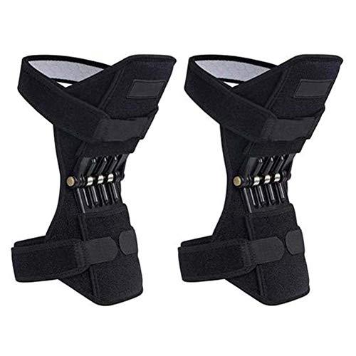 CAISHEND Hubwerk Unterstützung kneepads, Booster Alt kalt Bein Knie, Knie Deep Mountain Daily Motion gemeinsame Betreuung Starke Feder Rebound Force 1 Pair