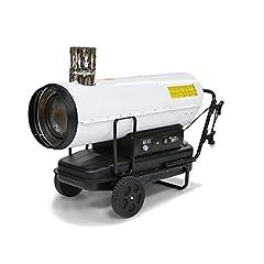 TROTEC Oliekachel kachel kachel IDE 50 olie stookolie kachel kachel kachel kachel (50 kW verwarmingscapaciteit)*
