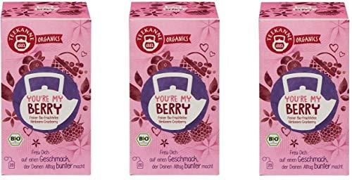 Teekanne Bio Organics You´re My Berry, 3er Pack