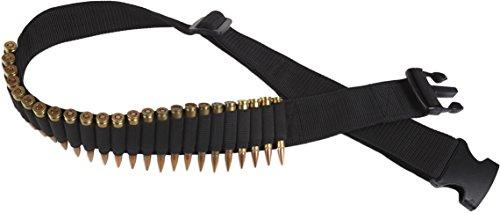 Bulldog Cases Adjustable Rifle Ammo Belt (Holds 24 Cartridges)
