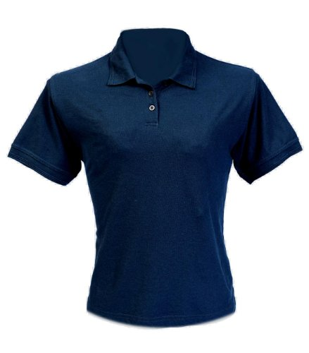 Fastrack LPS200 Semuru Medium Dames Polo Shirt - Navy