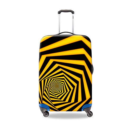 Striped S M L XL Best Travel Accessory Luggage Set Protective Covers For Man Woman Outdoor Trip