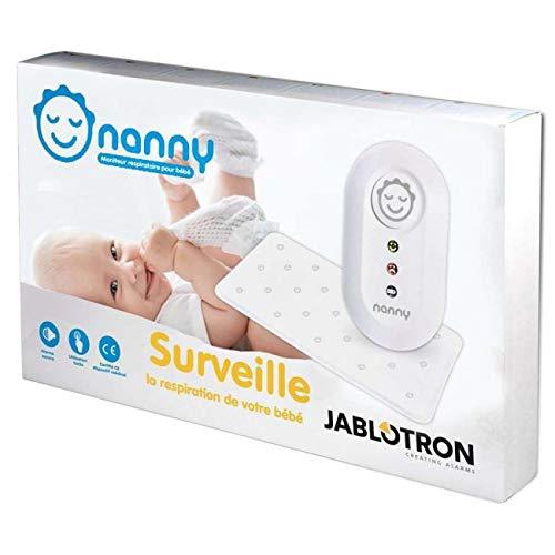Nanny - Moniteur respiration bébé - Modèle agréé France