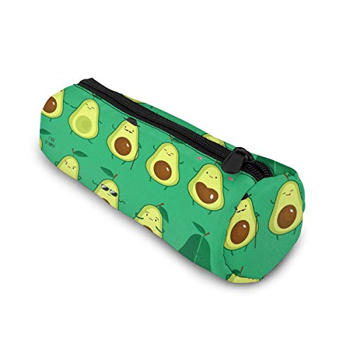 Avocado Pencil Case Bag Storage Pouch Simple Stationery Bag Holder for Middle High School Office College Student