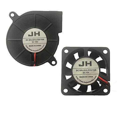 Ventilador ventilador de impresora 3D DC 12V 40x40x10 50x50x15 extrusora de refrigeración 1M para Anet a8 Eewolf