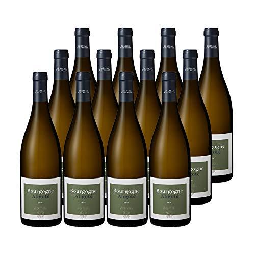 Bourgogne Aligoté Blanc 2018 - Château dEtroyes - Vin AOC Blanc de Bourgogne - Lot de 12x75cl - Cépage Aligoté
