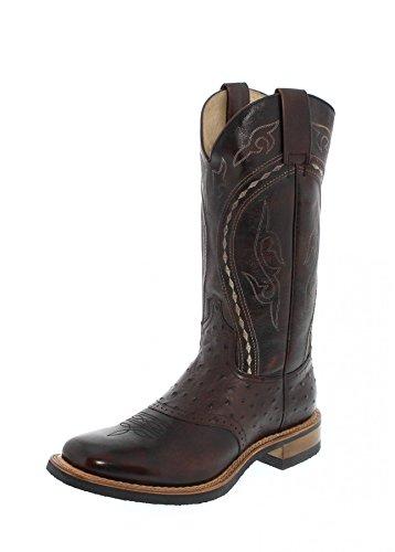 Sendra Boots Herren Cowboy Stiefel 8048 Jacinto Westernreitstiefel Westernstiefel Braun 40 EU