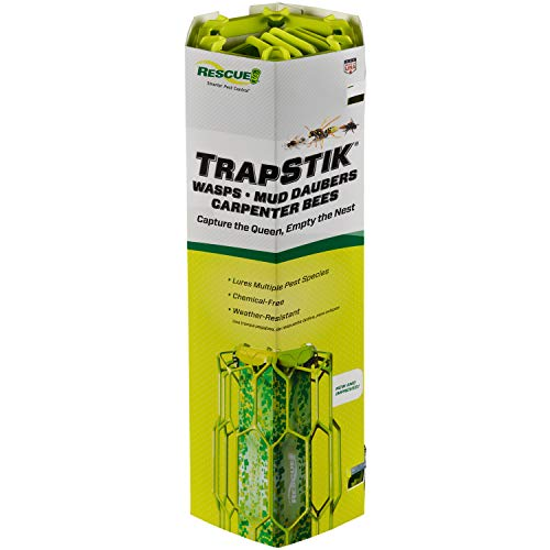 RESCUE TrapStik for Wasps Mud Daubers Carpenter Bees