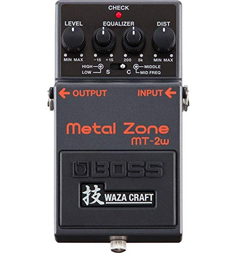 BOSS MT-2W Waza Craft Metal Zone - Pedal distorsión