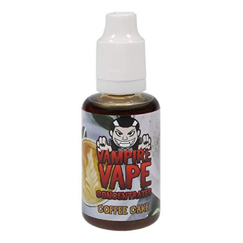 Vampire Vape Aromakonzentrat Heisenberg, zum Mischen mit Basisliquid für e-Liquid, 0,0 mg Nikotin, 30 ml (Coffee Cake)