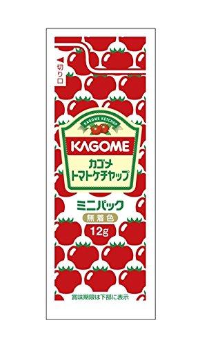 カゴメ トマトケチャップ ミニパック 12g×40袋