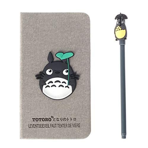 CoolChange Libreta/ Agenda de Totoro, cartonada con bolígrafo de Linea Fina