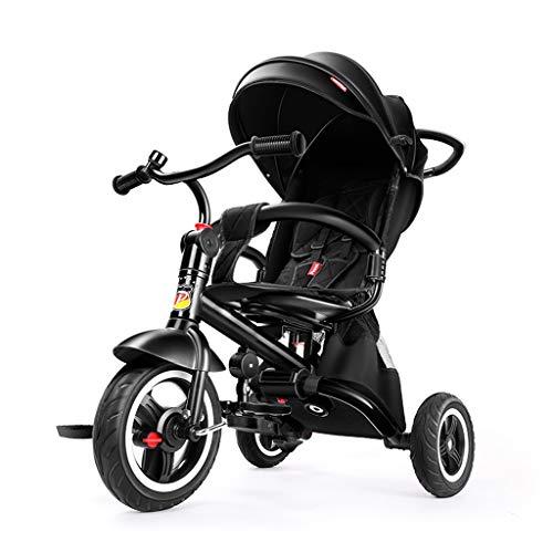 KHUY Basculador del bebé Cochecito - Compacto, Ligero Cochecito |Quick Fold Cochecito de bebé, Libre de tracción de Las Correas, Gran Cesta de Almacenamiento