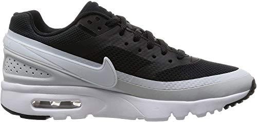 Nike Damen W Air Max BW Ultra Turnschuhe, Black (Schwarz/Pure Platinum-Weiß-Schwarz), 36 1/2 EU